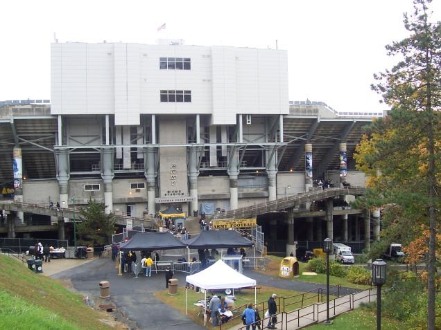Michie Stadium Exterior