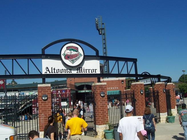 Blair County Ballpark Exterior