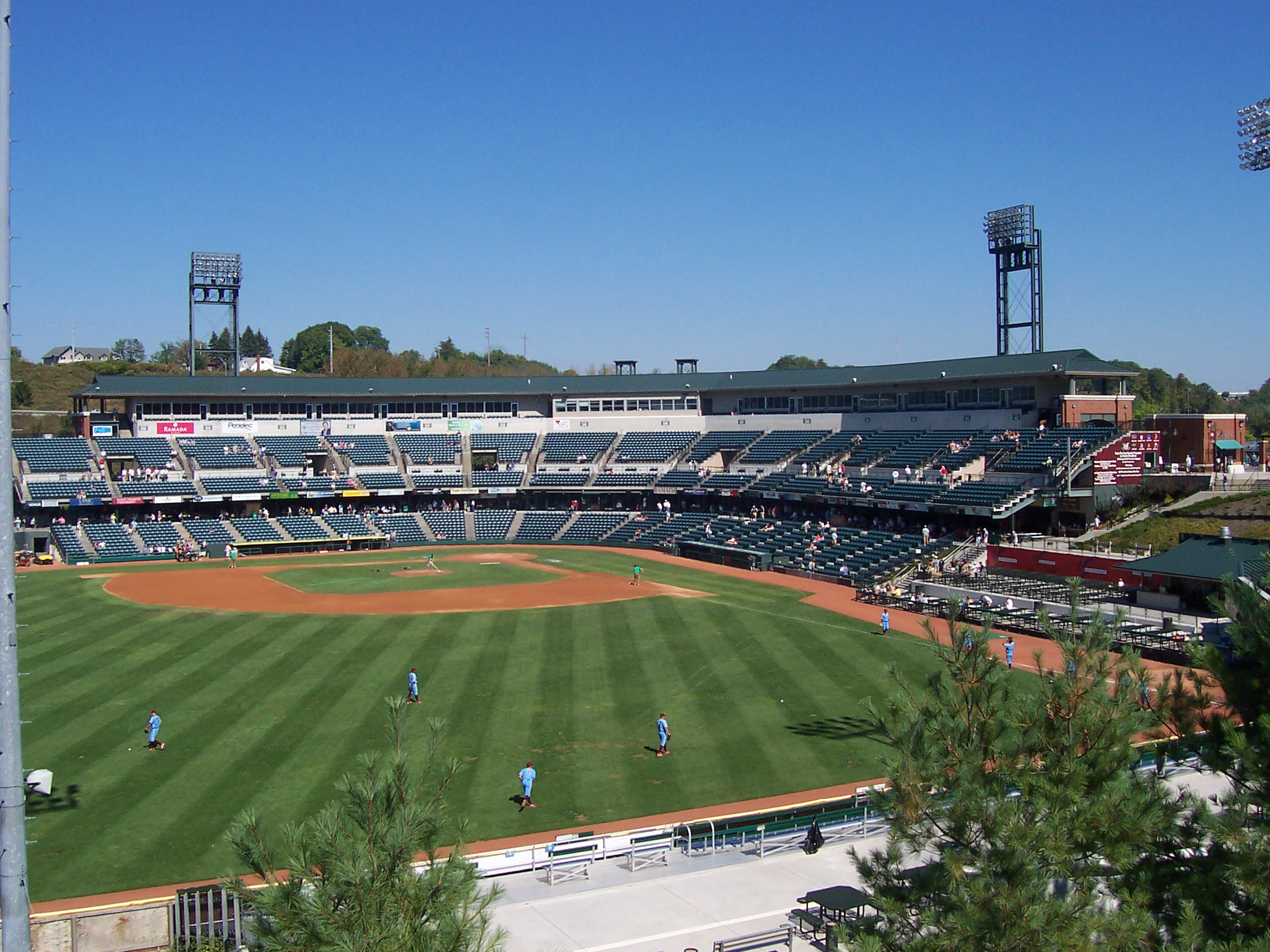 Peoples Natural Gas Field Stadium And Arena Visits