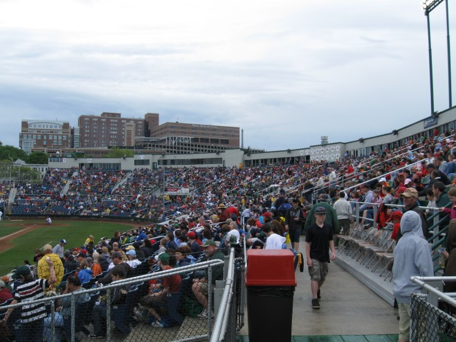 Hadlock Field Interior