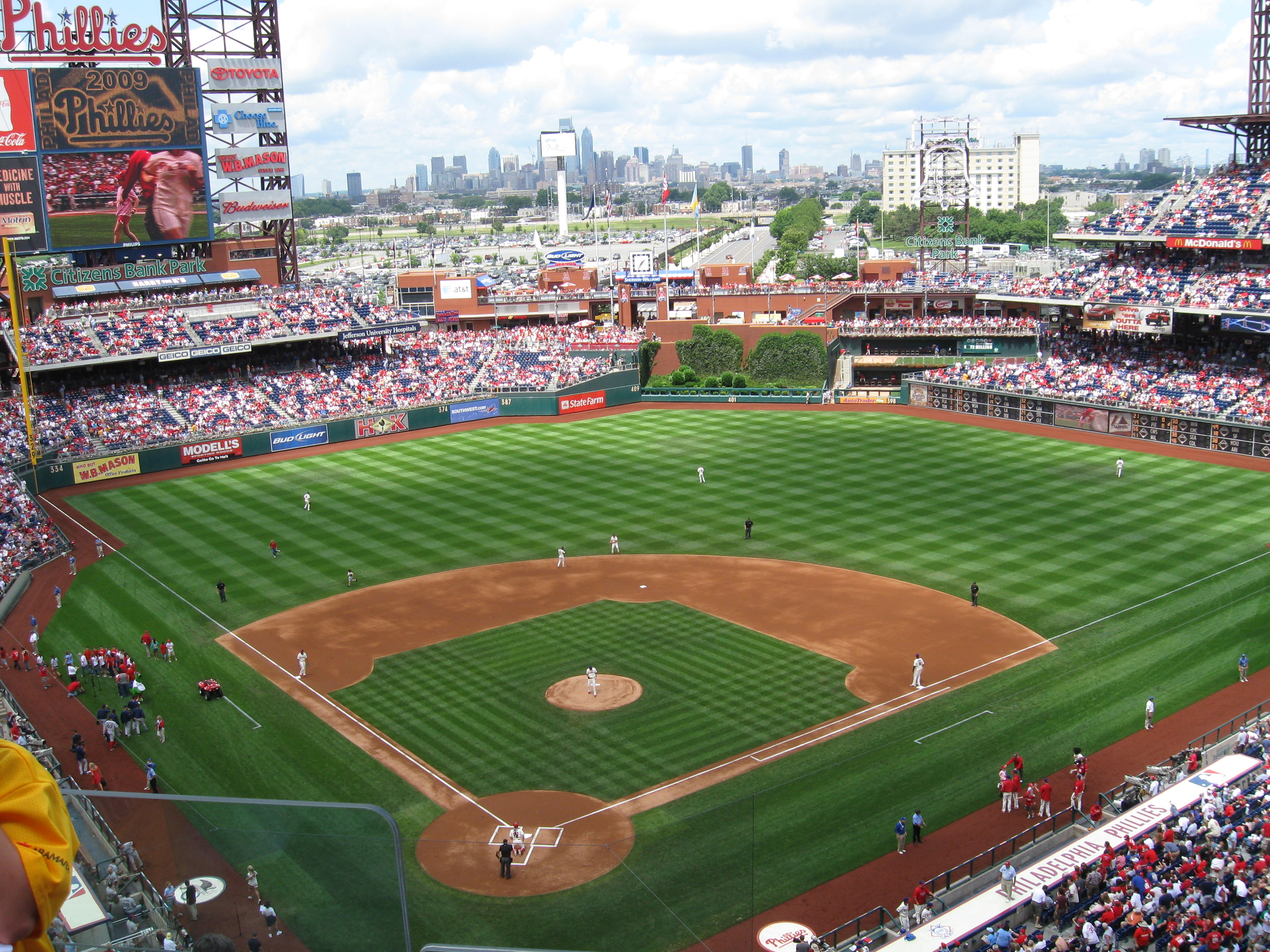 62 Citizens Bank Park 171 Stadium And Arena Visits
