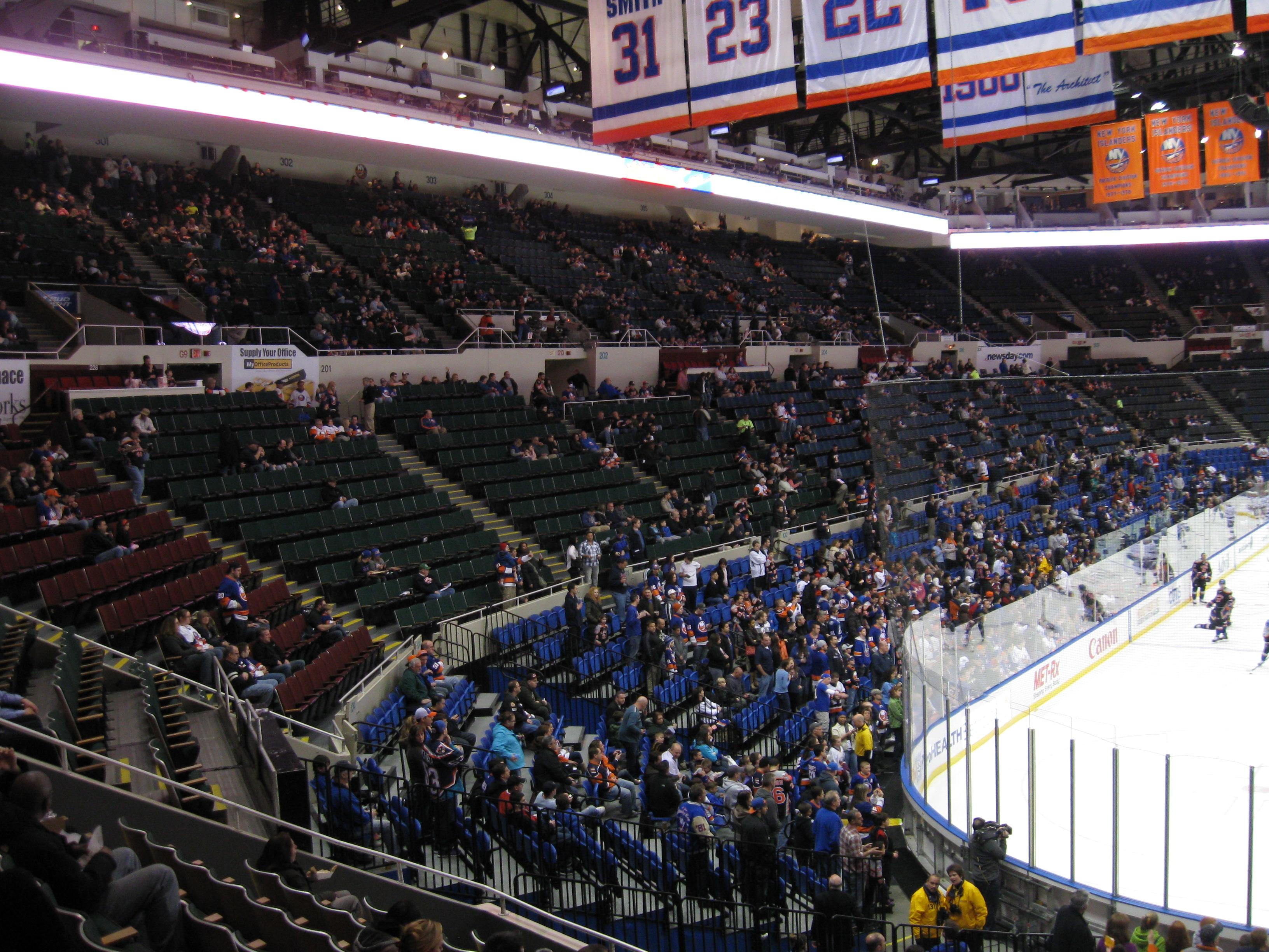 14 Nassau Coliseum 171 Stadium And Arena Visits