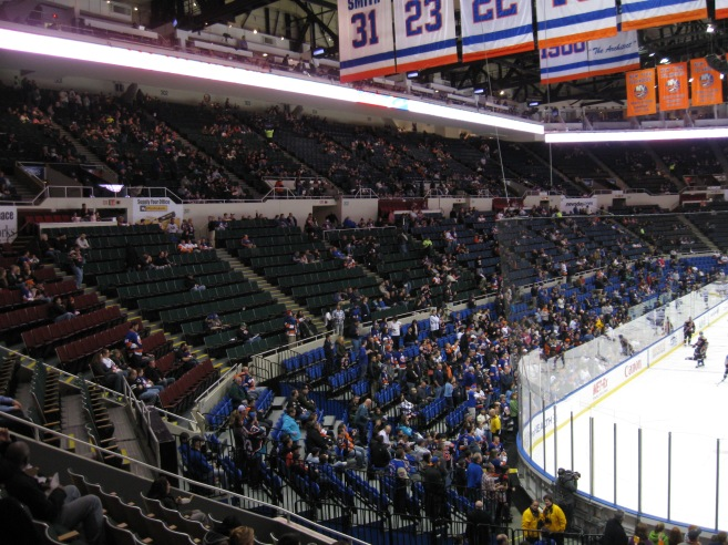 Nassau Coliseum Interior