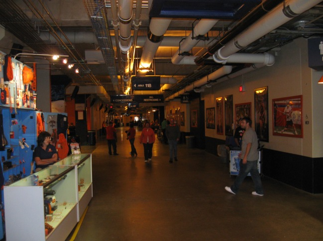 Carrier Dome Concourse