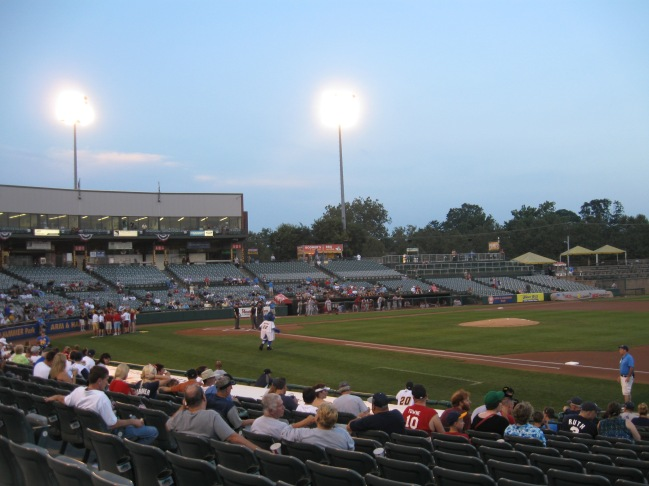 Arm & Hammer Park Interior