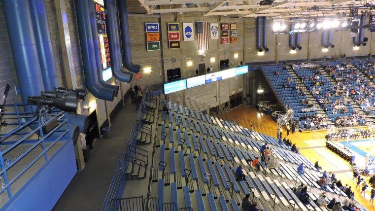 Alumni Arena Interior