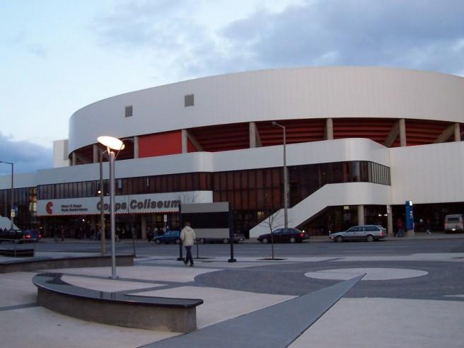 Copps Coliseum Exterior
