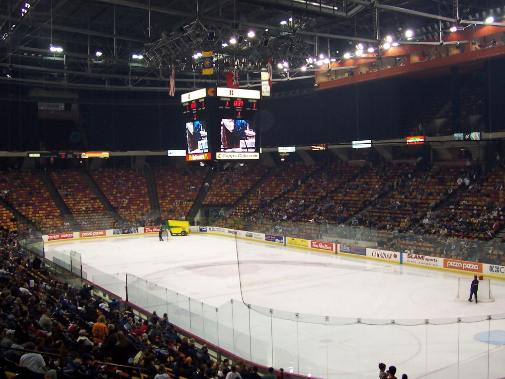 23 Firstontario Centre 171 Stadium And Arena Visits
