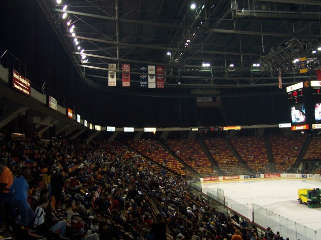 Copps Coliseum Interior
