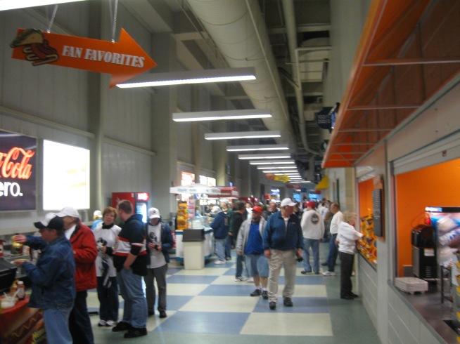 Wachovia Arena Concourse