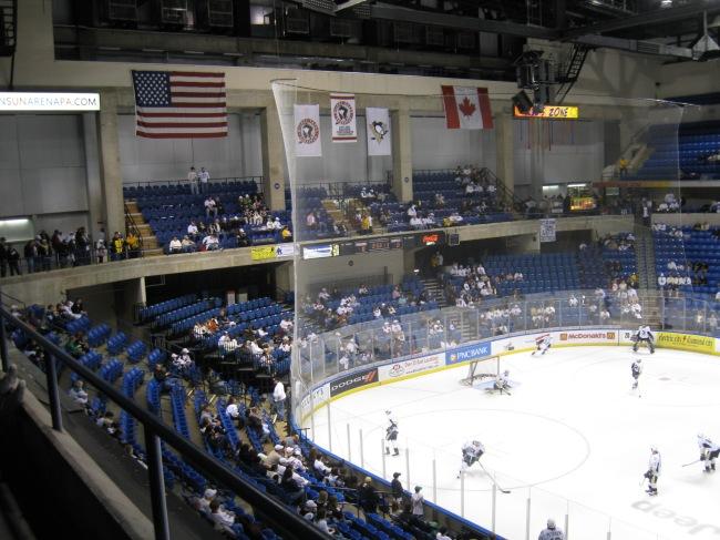 Wachovia Arena Interior