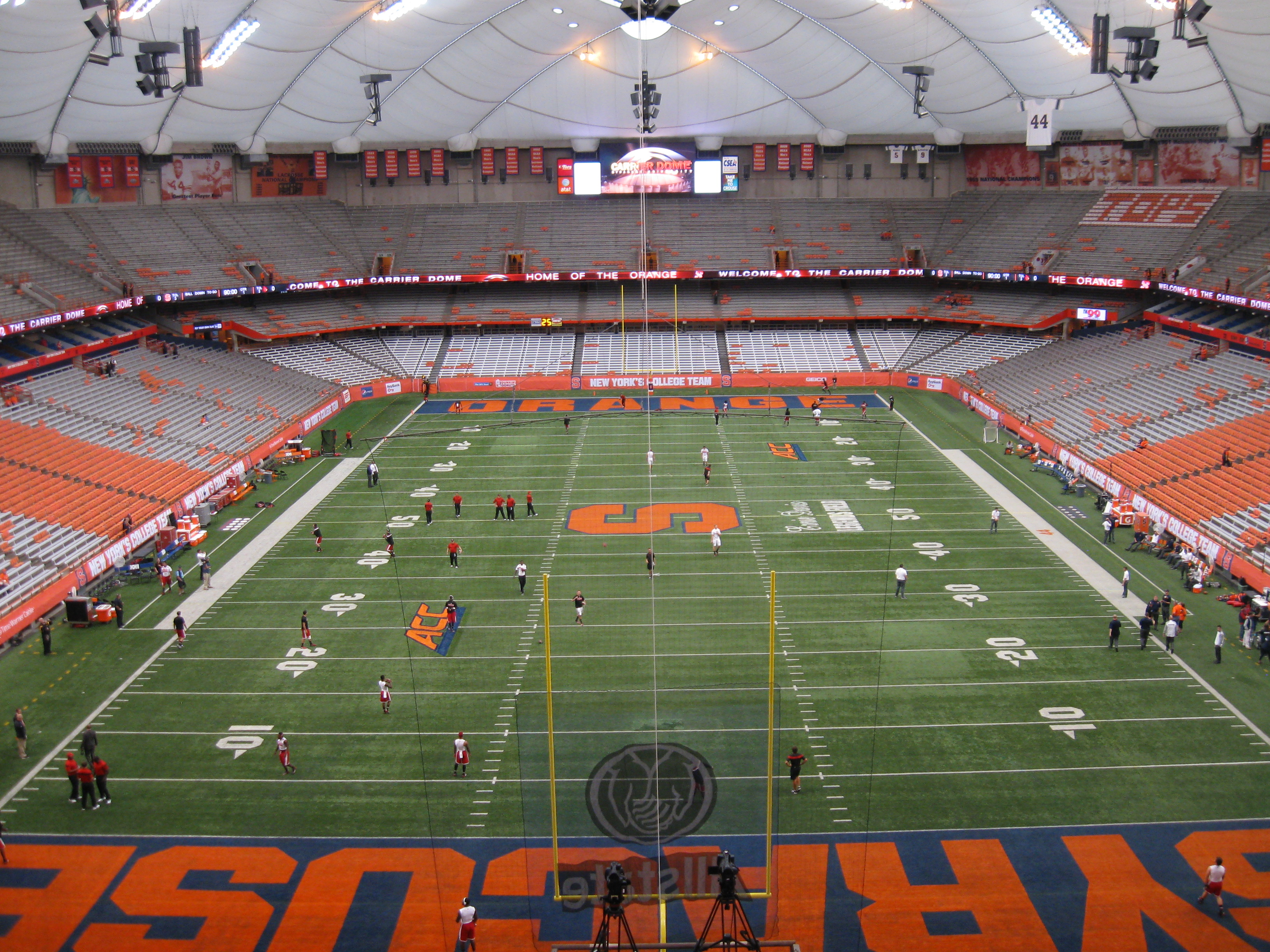 Carrier Dome Stadium And Arena Visits