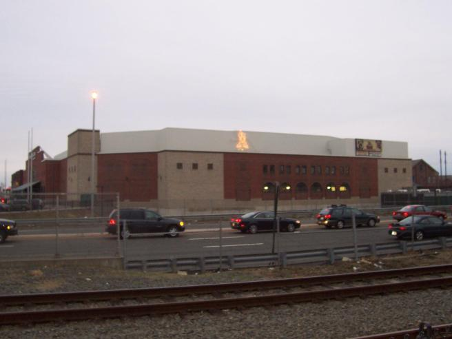 Sovereign Bank Arena Exterior