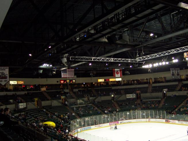 Sovereign Bank Arena Interior