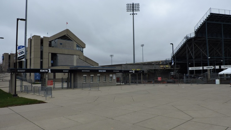 UB Stadium Exterior