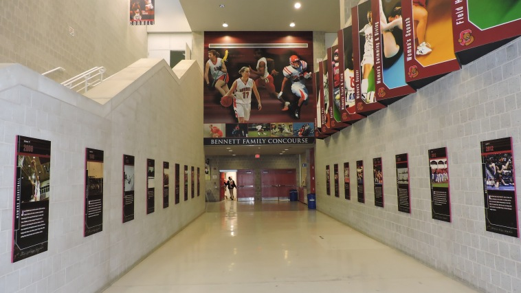 Newman Arena Concourse