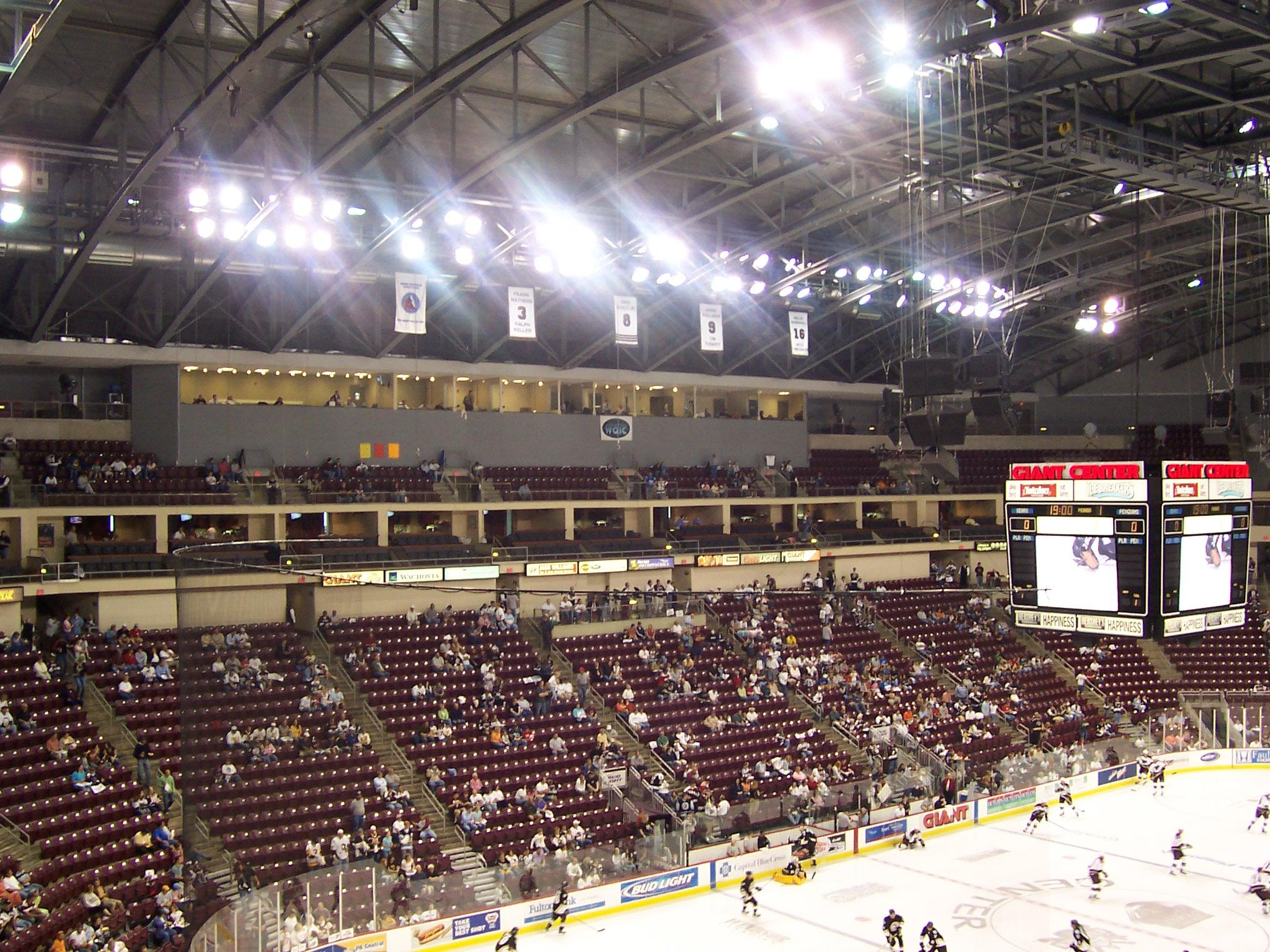 36 Giant Center 171 Stadium And Arena Visits