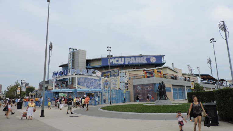 MCU Park Exterior