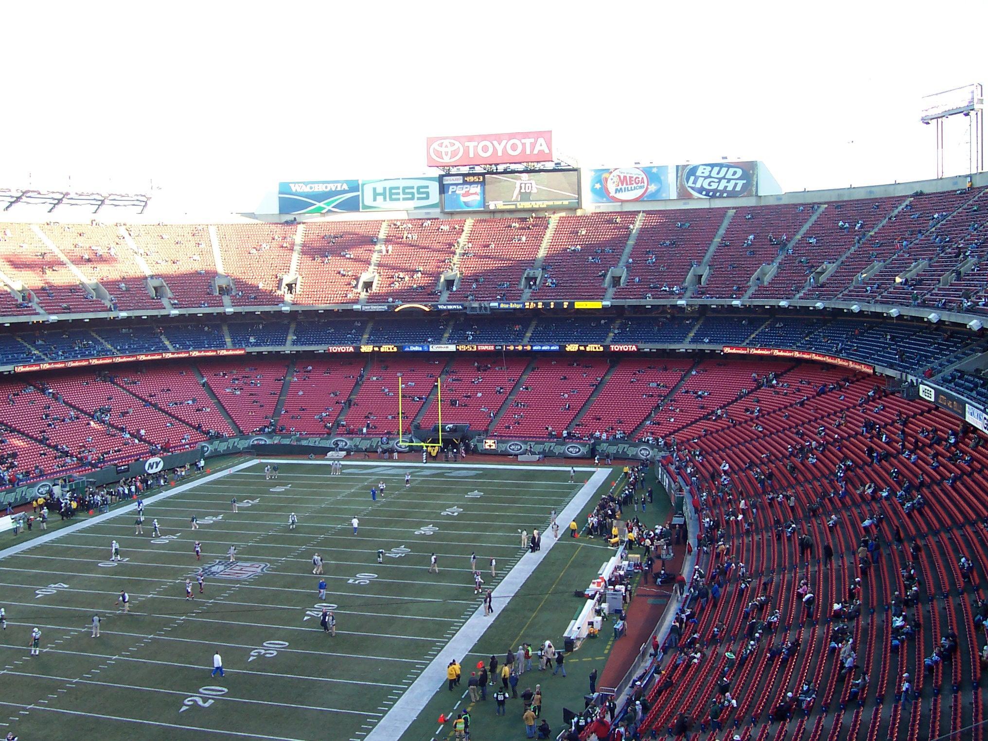 43 Giants Stadium 171 Stadium And Arena Visits