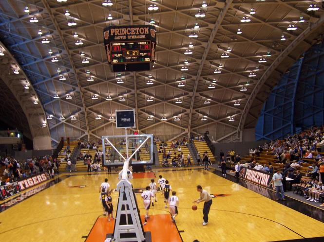 Jadwin Gym Interior
