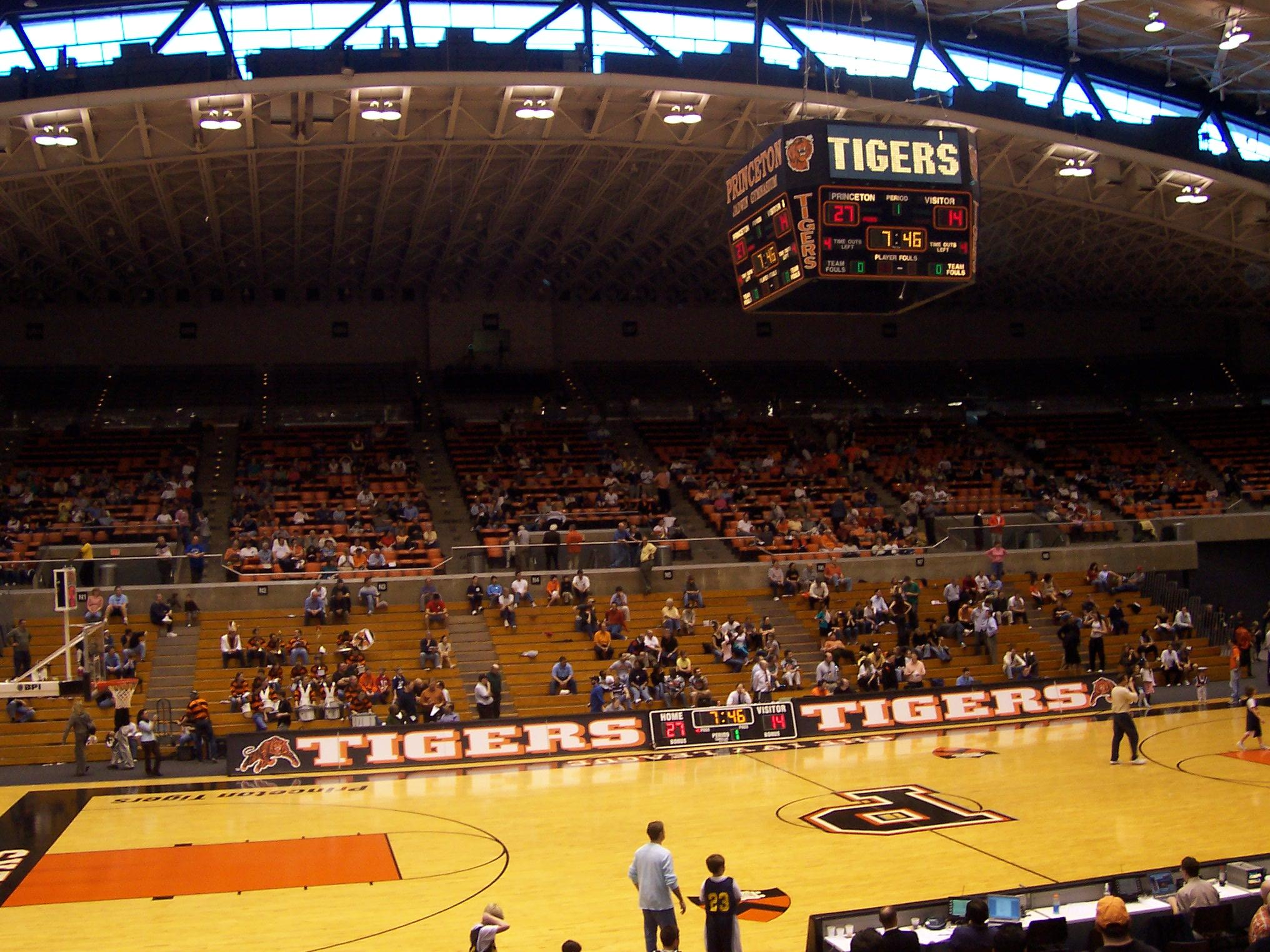 44 Jadwin Gymnasium 171 Stadium And Arena Visits