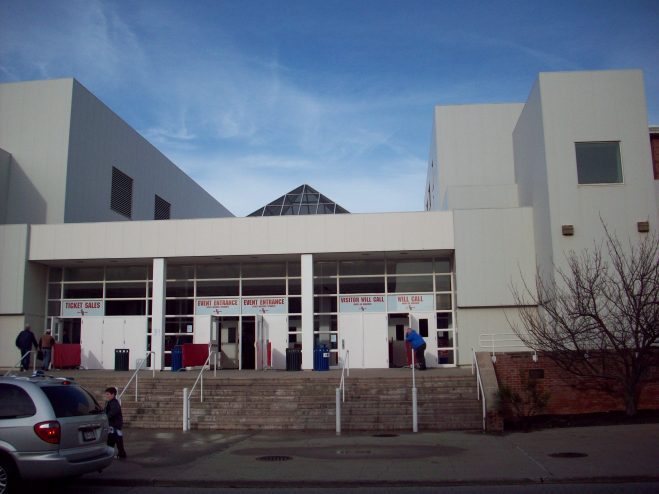 Stony Brook Arena Exterior