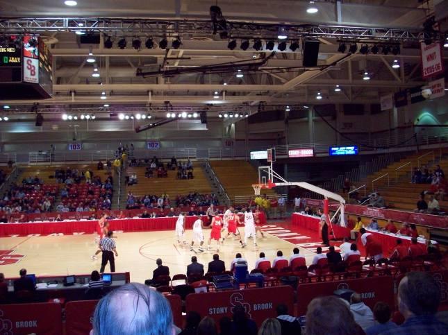 Stony Brook Arena Interior