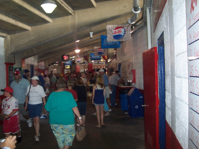 FirstEnergy Stadium Concourse
