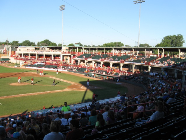 Jerry Uht Park Interior