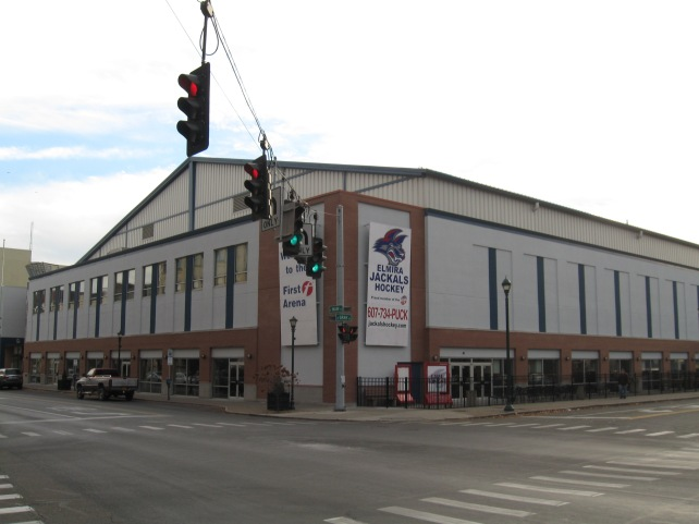 First Arena Exterior