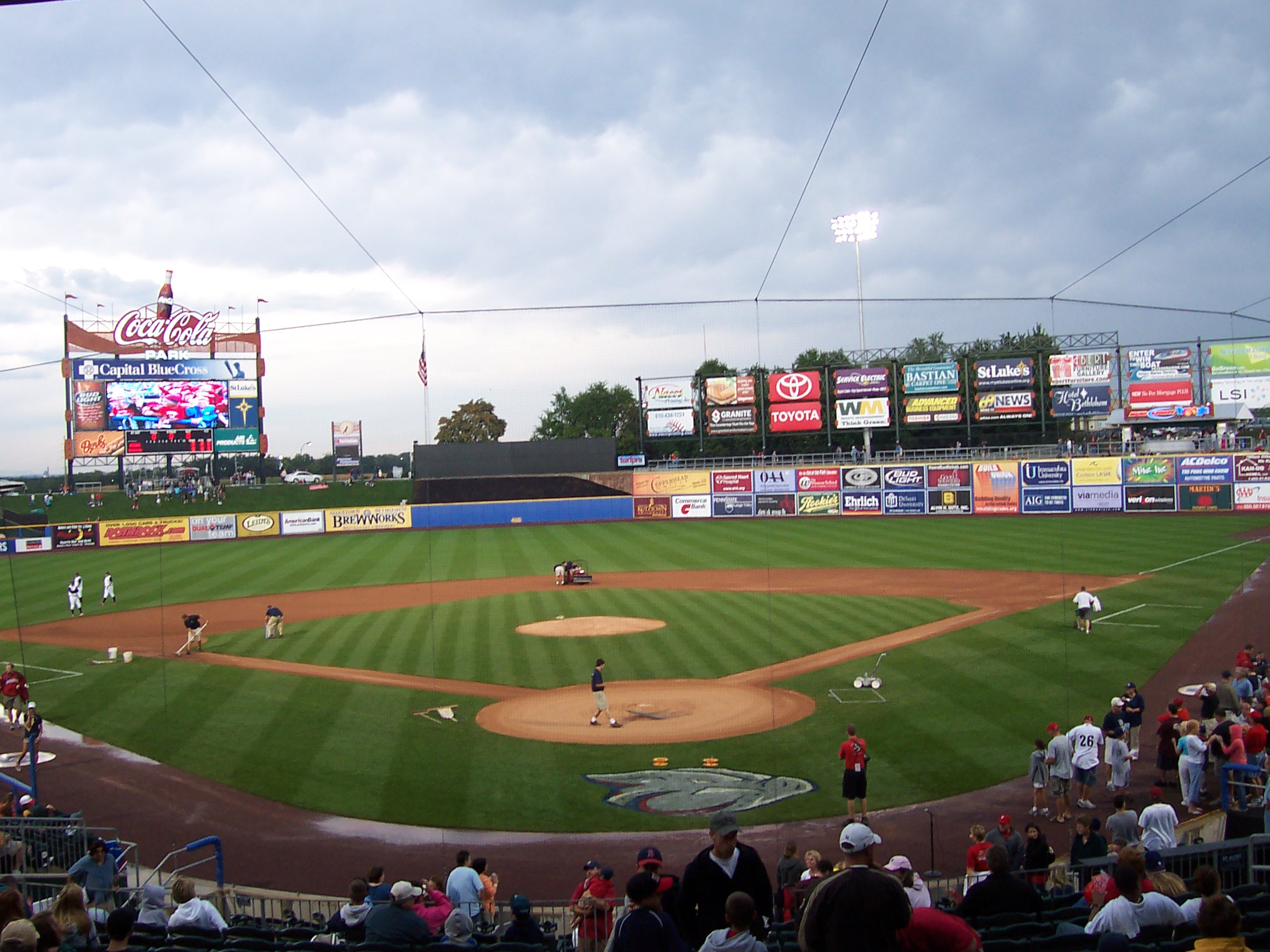 53 Coca Cola Park 171 Stadium And Arena Visits