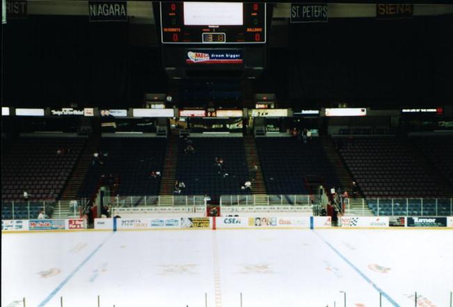 Pepsi Arena Interior