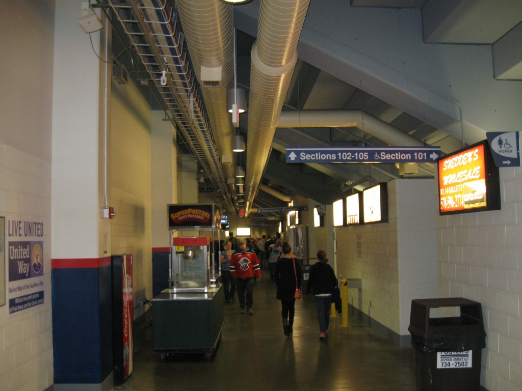 First Arena Concourse