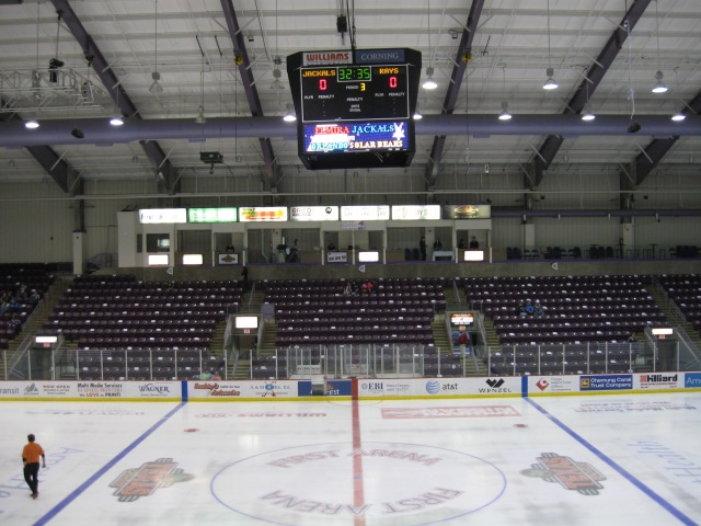 First Arena Interior