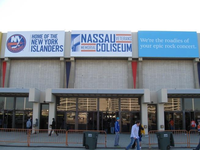 Nassau Coliseum Exterior