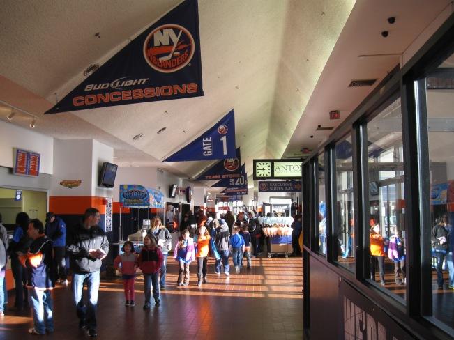 Nassau Coliseum Concourse