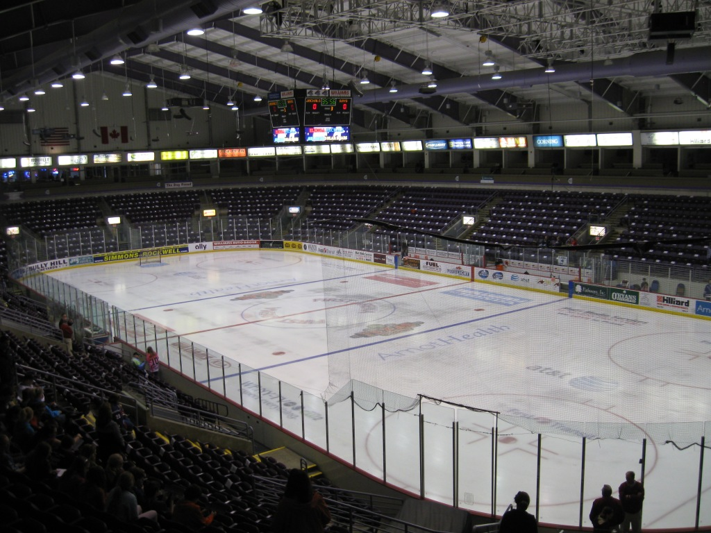 First Arena Interior