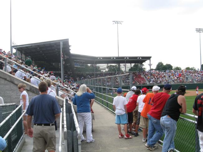 Volunteer Stadium Interior