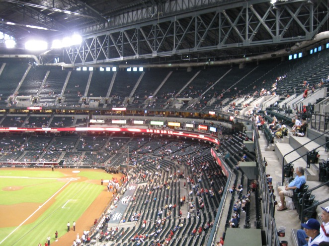 Chase Field Interior