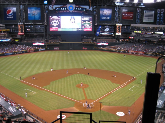 Chase Field Interior