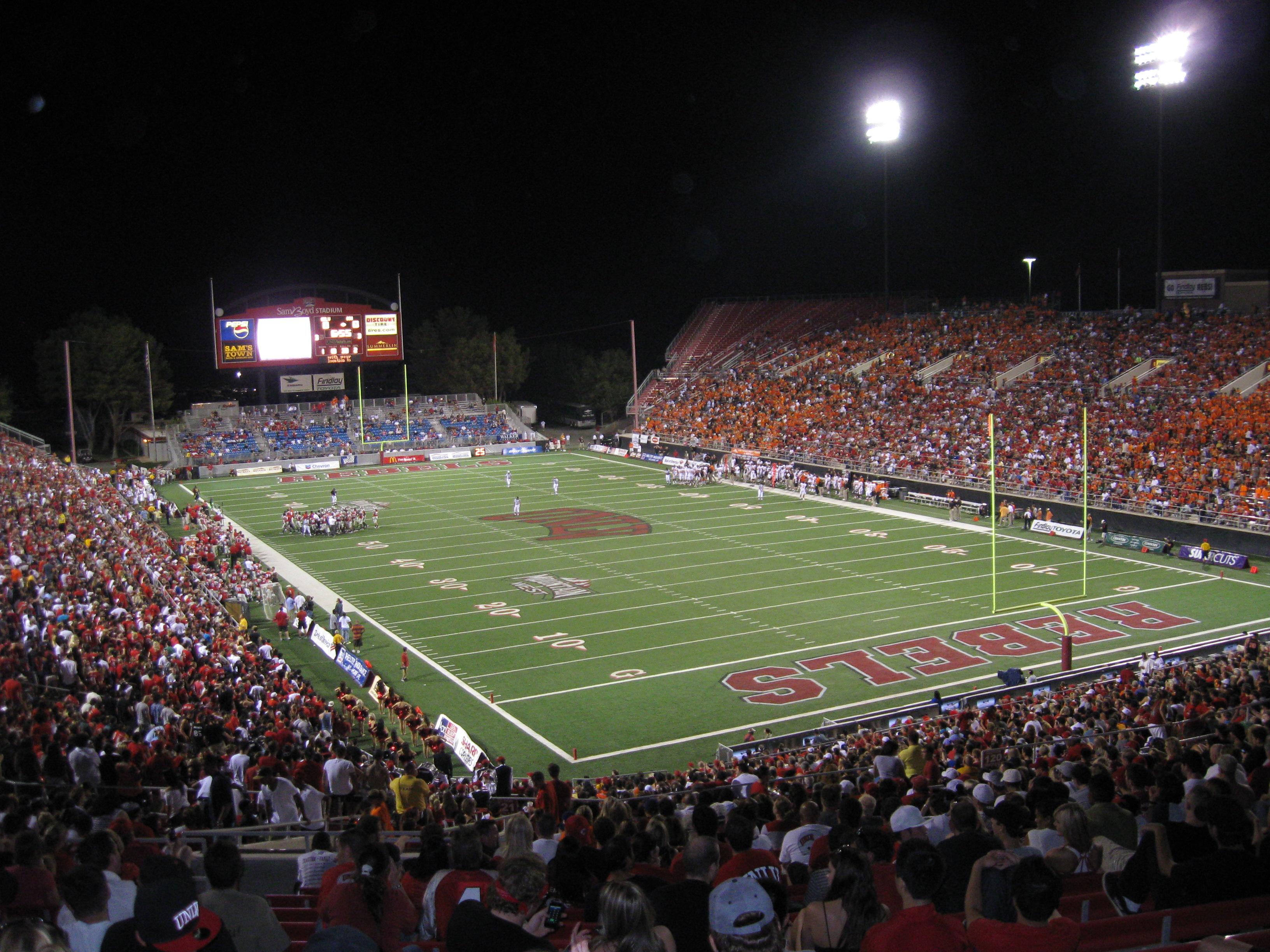 67 Sam Boyd Stadium 171 Stadium And Arena Visits