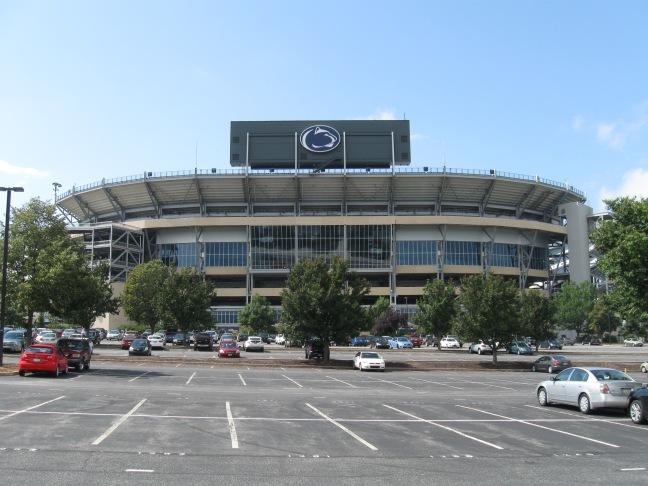 Beaver Stadium Exterior
