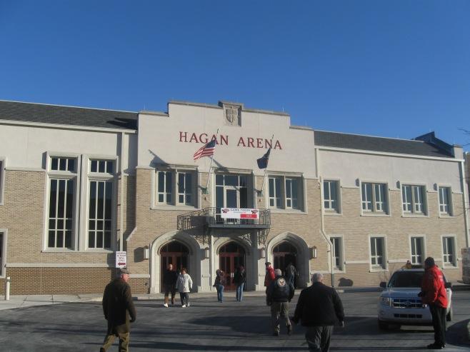Hagan Arena Exterior