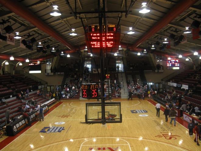 Hagan Arena Interior