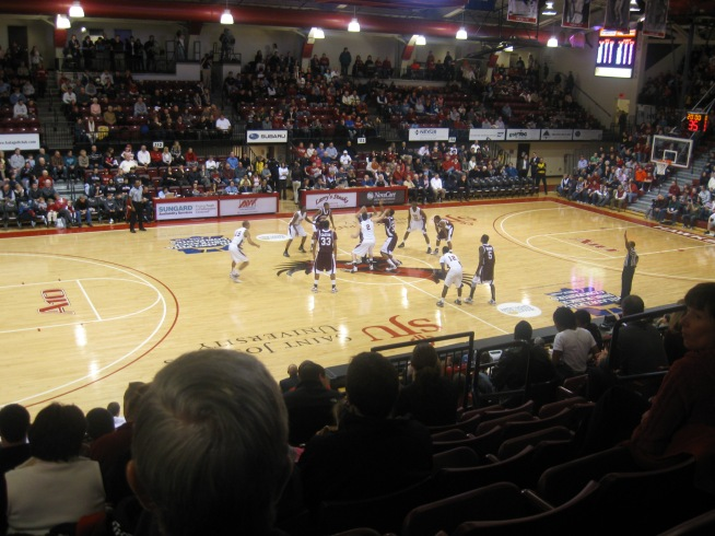 Hagan Arena Interior