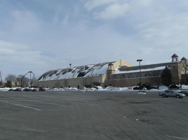 Hersheypark Arena Exterior