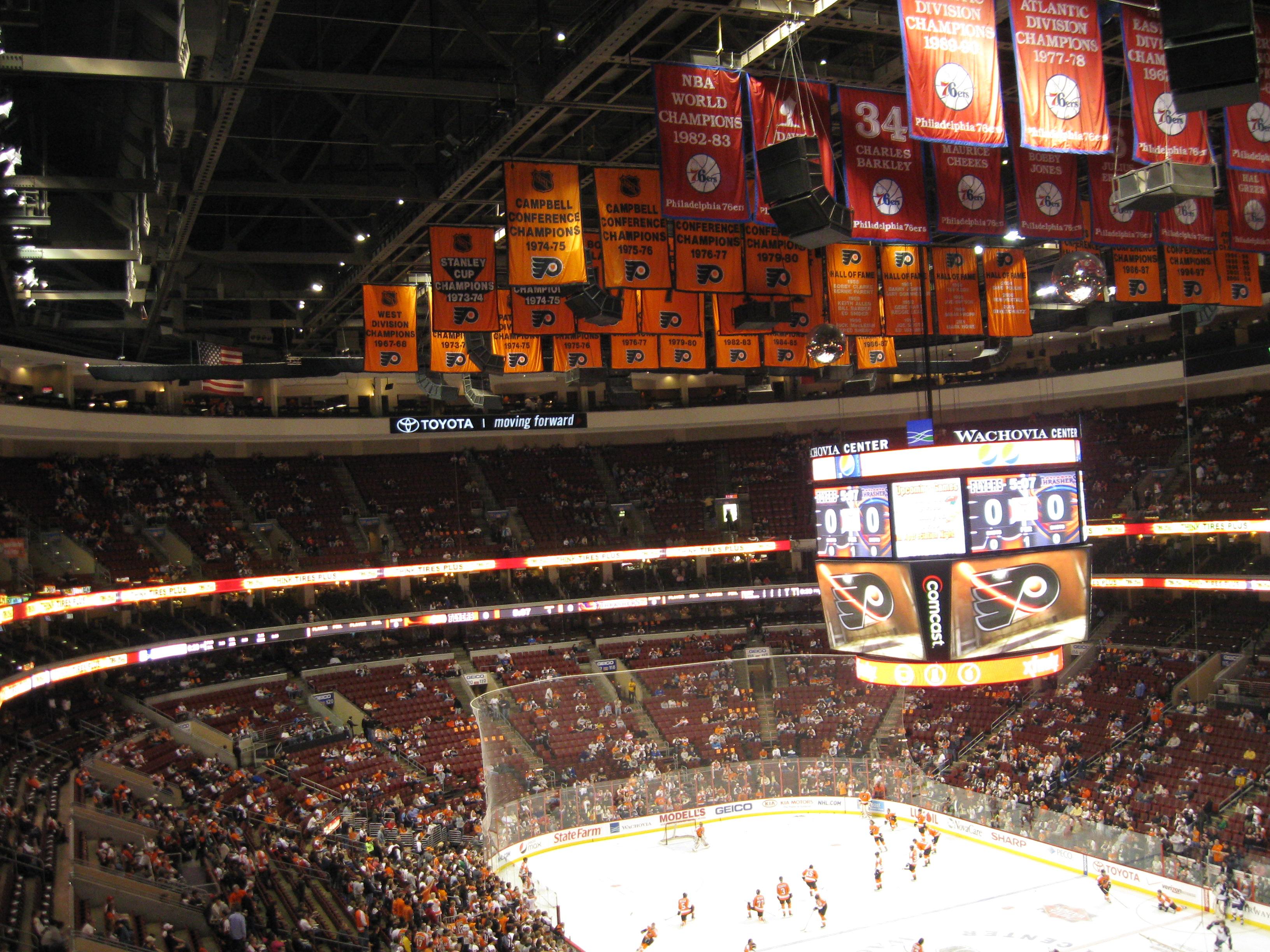 72 Wells Fargo Center « Stadium and Arena Visits