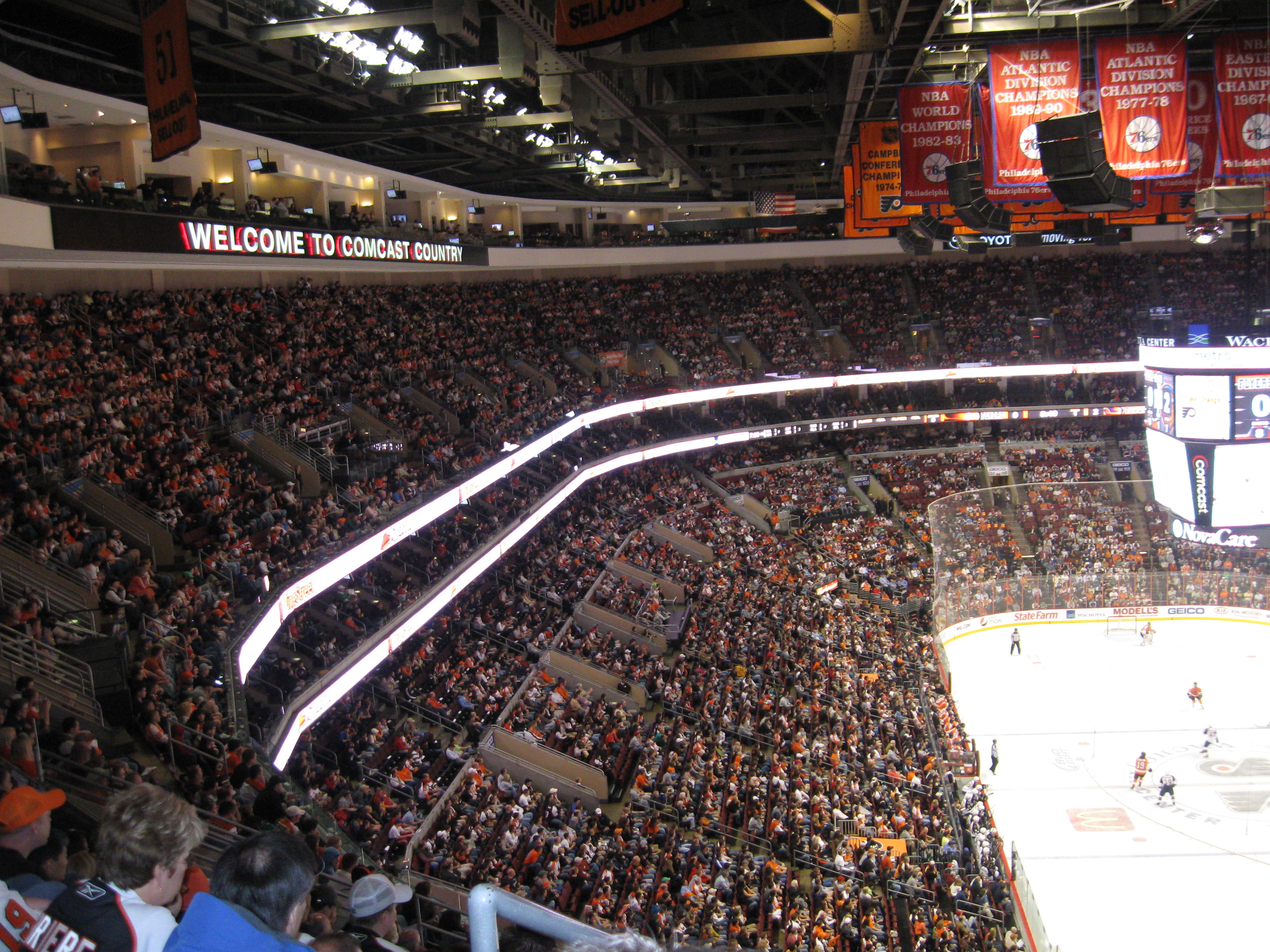 taking in a flyers game  u00ab stadium and arena visits
