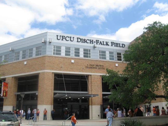 UFCU Disch-Falk Field Exterior