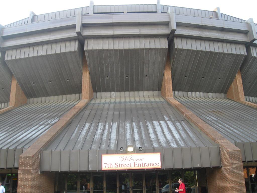Richmond Coliseum Exterior
